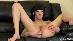 Asphyxia Noir is a little whore who needs a real cock to make her cum
