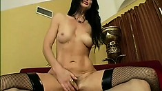 Lake Russell is a horny MILF with a desire for stiff love rods