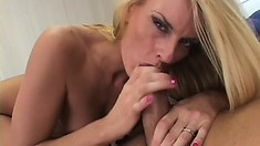Lonely soccer mom seduces and fucks the hot well-endowed ref