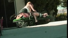 Kinky young lesbians share their first encounter and love every second