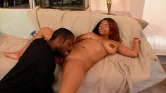 Buxom Patricia Horney has a hung black dude drilling all her holes