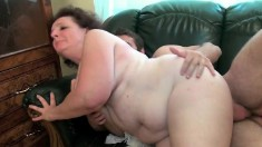 Chubby mature Miluse has a young stud giving her the fuck she needs