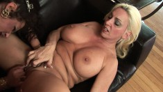 Angelica Lauren is eager to have some fun with a naughty girl