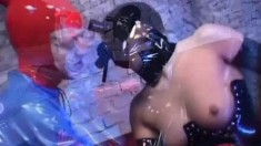 Franzisha And Juliette Have A Latex Fetish And Use Their Toys To Fuck