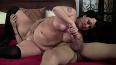 Alexis Couture knows how to pleasure a naughty well-endowed fucker