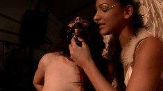 Horny angel can't wait to play with naughty young slave Xandra