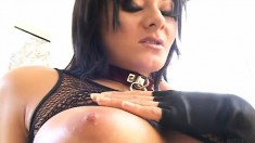 Slutty Brunette Takes Their Cocks In Every Hole Hard, And Gets A Dp