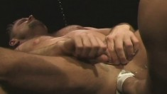 Two passionate gay lovers playing out their fisting fetish fantasies