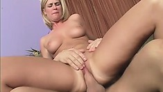 Gorgeous sex goddess loves to get roughly drilled from behind