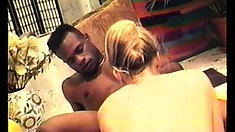 Nico Treasures blows Mr Briggs in the bathroom then he nails her hard