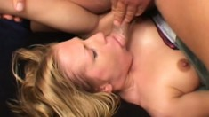Enjoyable slut Joselyn Pink has her holes banged by eager young steeds