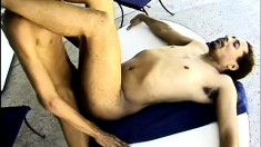 Sexy black guys tasting each other's dicks and having wild anal sex