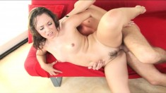 Kristina Rose is desperate to have her horny lover penetrate her