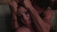 Submissive blonde hottie with big boobs Gabriella loves hardcore sex