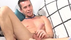 Johnathon and Ken exchange oral pleasures before unloading together