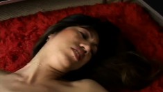Kinky Asian mom gets her aching peach fucked deep and creampied in POV