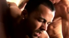 Hot guy gets on top of his partner and fucks his hard cock with desire