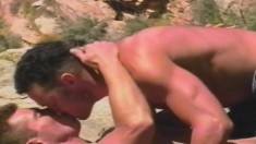 Daryl Brock And Ray Butler Fuck Each Other Outdoors All Day Long