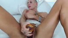 Solo girl masturbate with toys romania 7