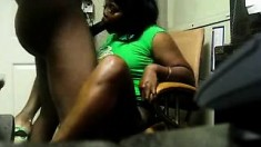 Big Tit Ebony BBW vs Big Black Cock