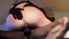 French wife fucked by her black lover