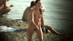 Voyeur on public beach Oral Sex sex